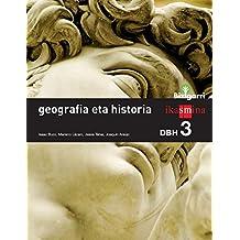 Geografia eta historia. DBH 3. Bizigarri - 9788498553505