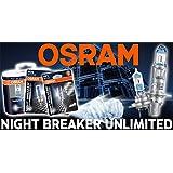 Par galardonado Osram máximo rendimiento Night Breaker Unlimited H7Bombillas para Seat Toledo desde a partir de 2007)