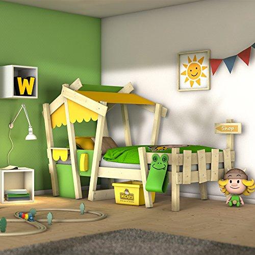 WICKEY Kinderbett 'CrAzY Candy' - Einzelbett in verschiedenen Farbkombinationen - 90x200 cm