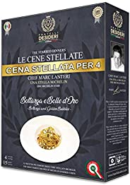 Box Le Cene Stellate - Spaghetti Bottarga e Bolle D'Oro - 4 Porz