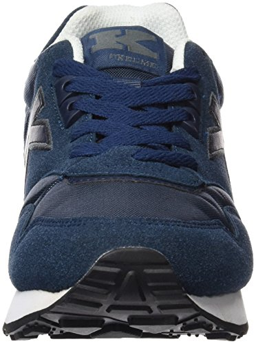 Kelme K-37, Baskets Basses Mixte Adulte Bleu - Marino