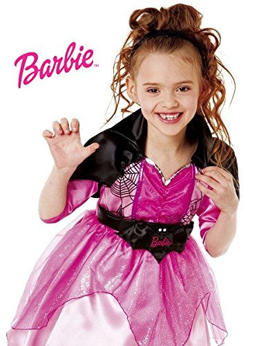 Costume barbie witch 8/10 anni - césar.costumi carnevale lusso bambini 3/12 anni, vestiti e travestimenti halloween e natale