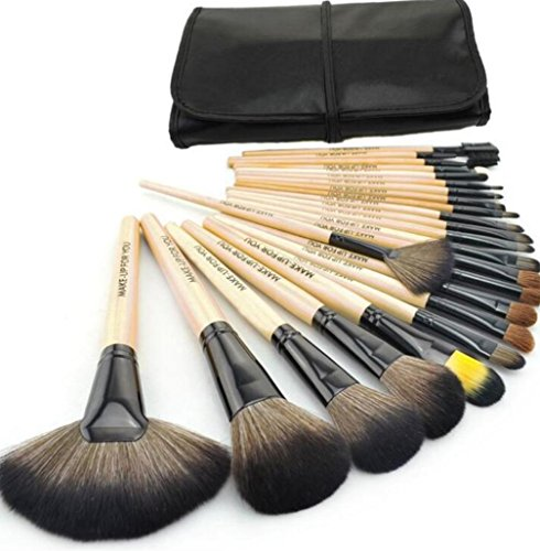 shaar Bürste Make-up Pinsel set Make-up-Tools persische Haare Make-up-tools , log color printing (Make-up-bürsten Rosshaar)