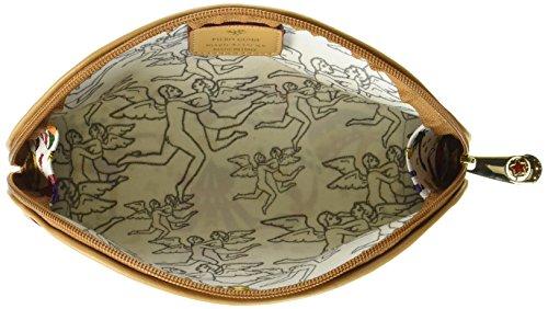 piero guidi Cosmetic Case, Organizer Borsa Donna, 20x12x4 cm (W x H x L) Bianco