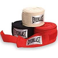 Everlast 3 Pack Hand Wraps - Red, 108 Inch
