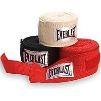 Everlast - Bandas para guantes de boxeo y deportes de contacto (3 pares, 274,3cm)