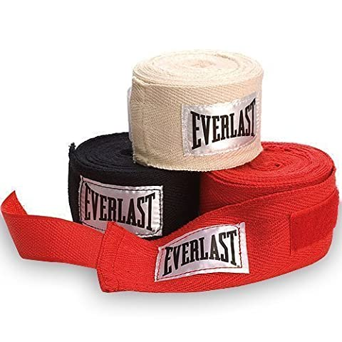 Everlast 3 Pack Hand Wraps - Red, 108