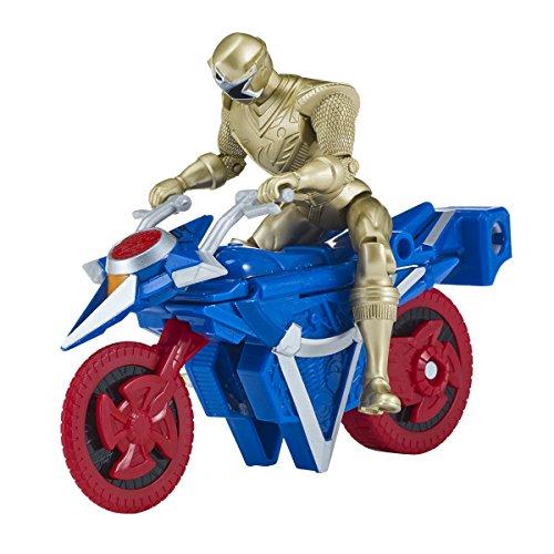 Power Rangers – Moto Mega Morph Ninja Steel – Ranger Doré, 43575