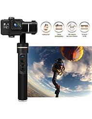 FeiyuTech 3 Achsen Splashproof Stabilisator aus CNC Aluminium Handheld Kardan 360 ° Drehbar Gimbal Spritzwassergeschützt für GoPro HERO 5/4/3+/3, Yi Cam 4K, AEE Action Kameras