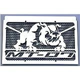 Kühlerverkleidung / Kühlerabdeckung Yamaha MT-07 und Moto Cage + schwarzes Schutzgitter