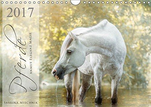 Pferde - Anmut, Eleganz, Magie (Wandkalender 2017 DIN A4 quer): Lassen Sie sich entführen in die faszinierende Welt der Pferde (Monatskalender, 14 Seiten)
