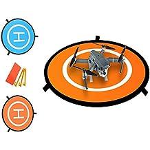 DD Drone Landing Pad, Portátil Landing Mat para Phantom 2 / 3 / 4 / 4 Pro, Inspire 2/1, 3DR Solo, RC Drones Helicópteros DJI Mavic Pro, loro, AAntel Robotic y Más (Waterproof & universal helipuerto)