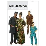 Butterick Dames/tunique, Caftan, pantalon hommes, chapeau et écharpe européenne-XN (XLG - XXL - XXXL) modèle