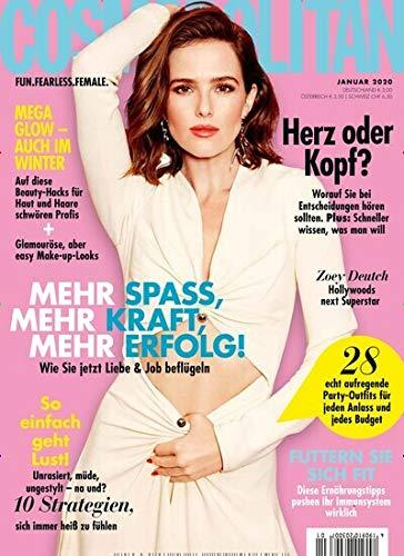 """Cosmopolitan 1/2020 """"Mehr Spass, Mehr Kraft, Mehr Erfolg!"""""""