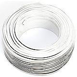 Seki 311761cavo per altoparlante, 2X 0,75mm², 50m Bianco