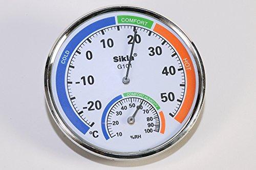 Sikla Igrometro-termometro per ambienti.