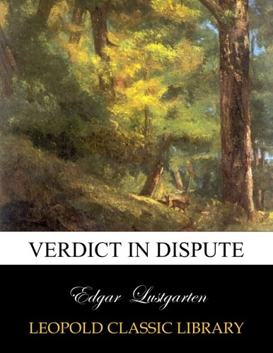 Verdict in dispute