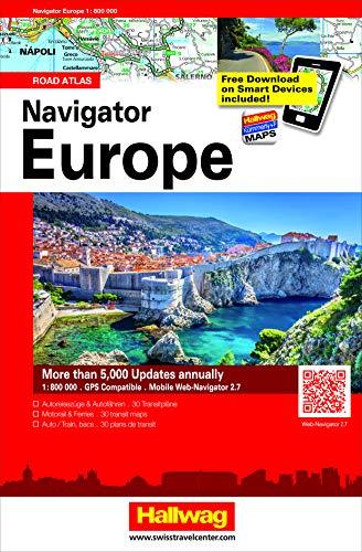 Navigator Europe 1:800.000. Road atlas. Ediz. multilingue