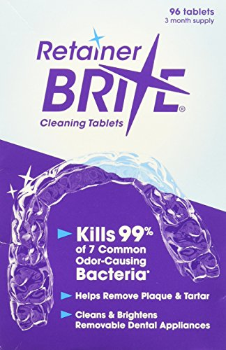 retainer brite cleaning tablets - 51X7N8y8G L - Retainer Brite Cleaning Tablets