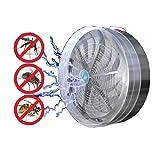 Coloré(TM) Multi-Insectes Solaire Alimenté Buzz Lampe UV Lumière Fly insecte Bug Mosquito Tuer Zapper Killer