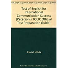 TOEIC Success with CD (Audio) (Peterson's TOEIC Official Test Preparation Guide)