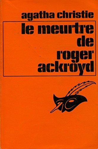 Le meurtre de Roger Ackroyd / christie, Agatha / Réf: 28811 par