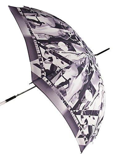 Parapluie Silhouettes noir et blanc