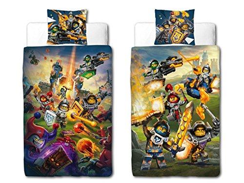 Linon Kinder Bettwäsche Lego Nexo Knights