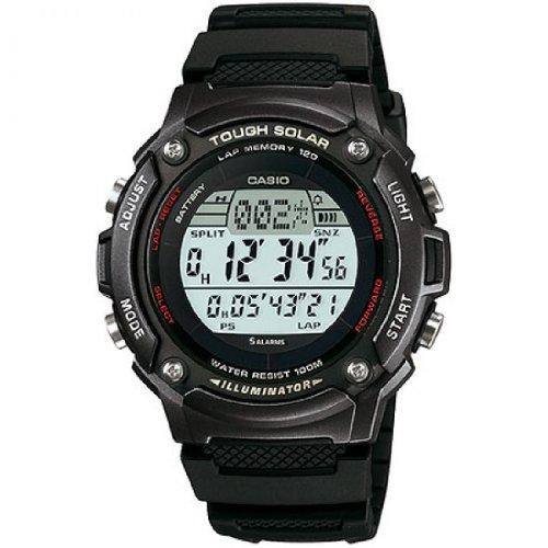 Casio Unisex Digital mit Resin Armbanduhr WS200H1BVEF