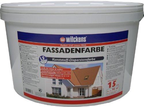 Fassadenfarbe weiß 15 Liter