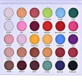 30 Colori Ombretto Pressato Glitter Palette Di Ombretti Pigmentato Minerale Sventato Lungo Rivestimento Luccicante Polvere Ombretto Pallet Kit Trucco Impermeabile