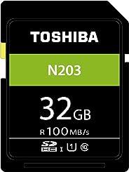 Toshiba N203 Scheda di Memoria SDHC 32GB - 100MB/s - Classe 10 - UHS-I