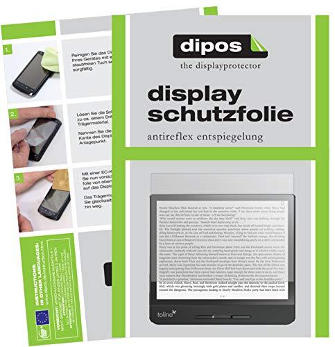 dipos I Schutzfolie matt kompatibel mit Tolino Epos 2 Displayschutz-Folie