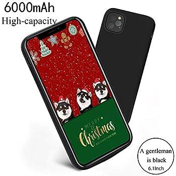 Phoneholster Cover Batteria per iPhone 11 PRO Max 6.5 inch 6200mAh