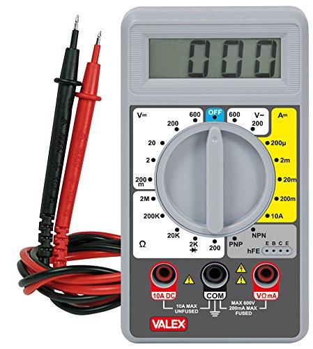 Valex 1800160.0Tester Digital P3000, Xenon Lcd-xenon