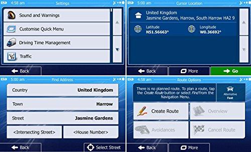 ohrex gps navigation 7 pouces cran tactile capacitif il dispose de cartes pr charg es du. Black Bedroom Furniture Sets. Home Design Ideas
