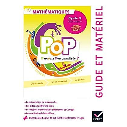 POP - Maths Cycle 3 Ed. 2019 - Guide pédagogique + accès numérique