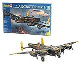 Revell 04300 14 Modellbausatz Avro Lancaster Mk.I/III im Maßstab 1:72, Level 5