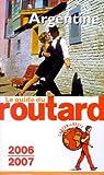Guide du routard. Argentine. 2008 par Guide du Routard