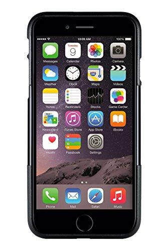 iPhone 6 Plus Hülle, (Schwarz Grau) SaharaCase Schutz Kit Paket mit Null Schaden [ZeroDamage gehärtetes Glas Bildschirmschutz] Robuster Schutz Anti-Rutsch-Griffigkeit [Stoß sicherer Puffer] Schlanke P Schwarz, Grau