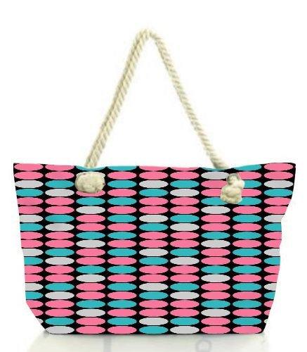 snoogg-background-spotter-women-anchor-messenger-handbag-shoulder-bag-lady-tote-beach-bags-blue
