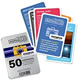 Inspiracles Olympus Edition Fotografie Lernkarten - 50 Foto Aufgaben für die OM-D und Pen-F, Fotografieren Lernen