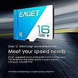 EAGET T1 Micro SD-Karte 128 GB 64 GB 32 GB 16 GBC Speicherkarte für Smartphones und Tablets
