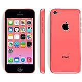 "Apple iPhone 5C - Smartphone Libre IOS 7 (Pantalla 4"" IPS, Cámara 8 Mp, A1532, Dual-Core 1.3 GHz, 16GB ROM, 1 GB RAM, Siri) (Rosa) (Reacondicionado)"