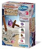 Clementoni 69940.7 - Galileo - Ausgrabungs-Set - Steine und Mineralien -