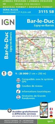 BAR LE DUC ET ENVIRONS - 3115SB BAR-LE-DUC LIGNY-EN-BARROIS