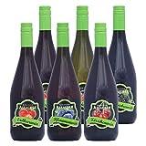 Allacher Fruchtwein-Kennenlernpaket, Premiumqualität aus Österreich, 8,5% vol., (6 x 0,75 l)