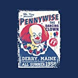 Pennywise The Dancing Clown Stephen Kings It Men's T-Shirt