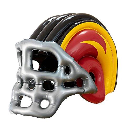 Widmann 04833 - Aufblasbarer Amerikanischer Football Helm, für Erwachsene, Einheitsgröße