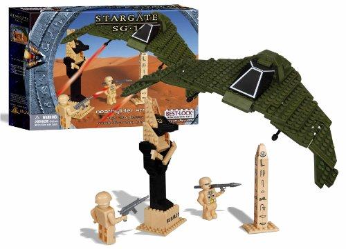 Best-Lock - Stargate SG-1 Best-Lock jeu de construction Deathglider Attack, Figurines